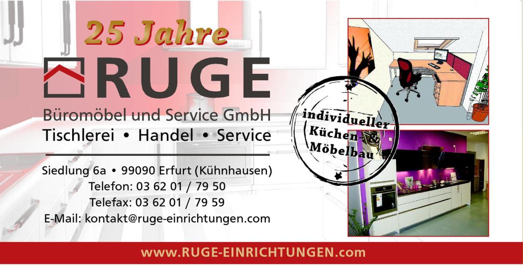 Ruge Büromöbel und Service GmbH - Ruge Büromöbel und Service GmbH